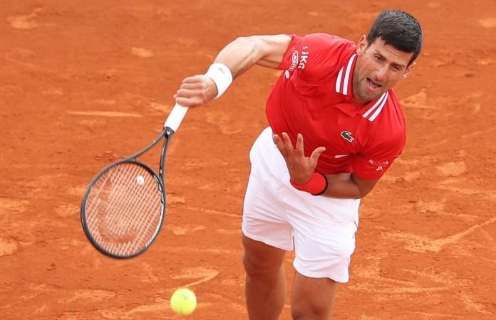 Trabaja Djokovic para ganar en Roland Garros