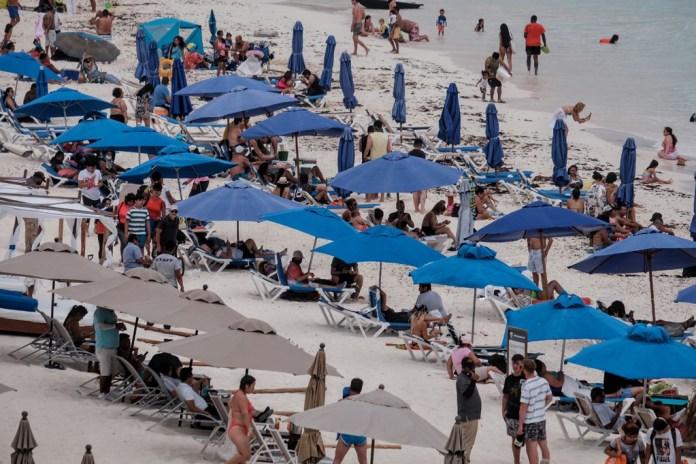 Exhorta Cruz Roja mantener medidas sanitarias en playas