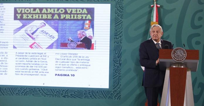 Acusan PAN y MC a AMLO ante OEA