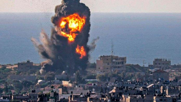 Arroja 70 muertos combate en Franja