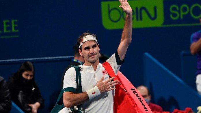 Roger Federer se retira de Roland Garros