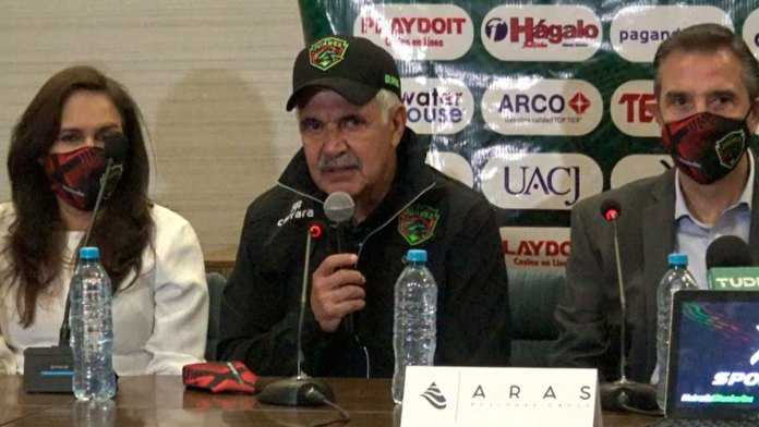 Presentan a Ricardo Tuca Ferretti con el FC Juárez