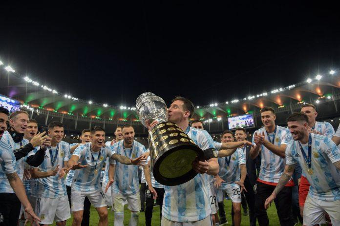 Por fin tiene Messi su título con Argentina