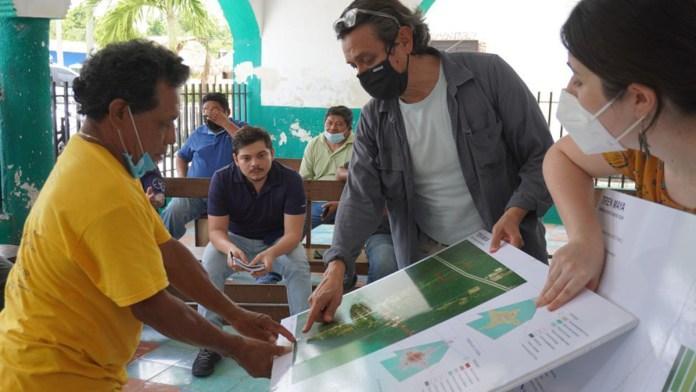 Muestran en Nuevo Xcan diseño de estación de Tren Maya