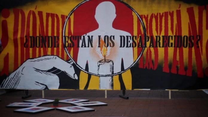 Dolor colombiano por personas desaparecidas