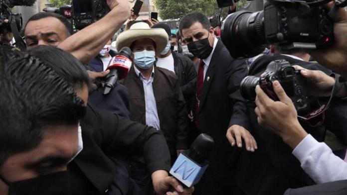 Pedro Castillo ya es presidente electo de Perú