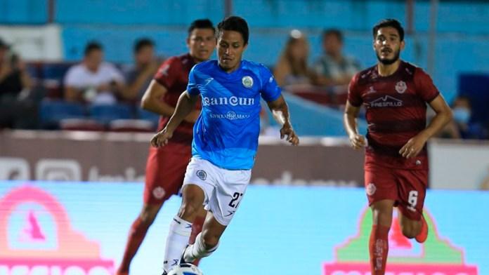 Logra Cancún FC primer triunfo en casa