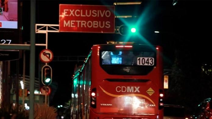 Anuncia Metrobús cierres en Línea 1