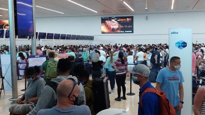 Lidera Cancún recuperación aeroportuaria