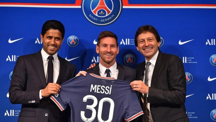 Fijan Messi y PSG como objetivo la Champions