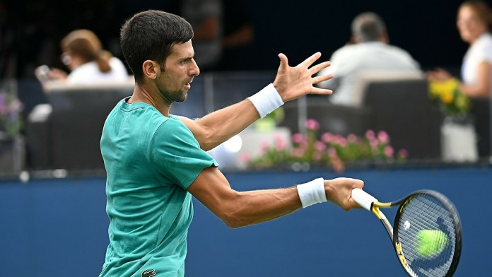 Parte Djokovic como favorito en US Open