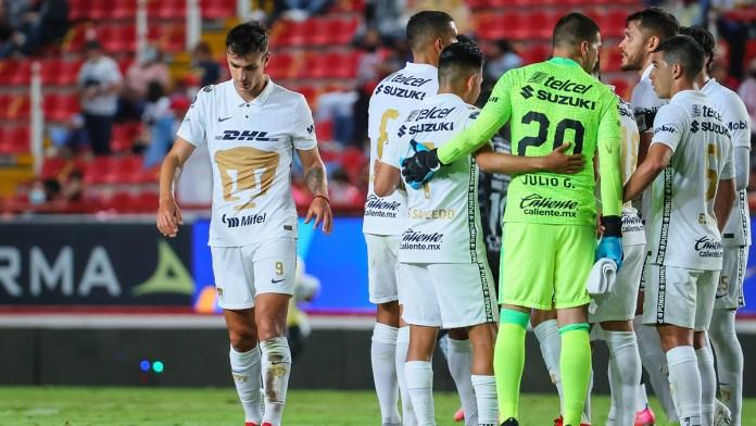 Asumen futbolistas de Pumas culpa por mala racha