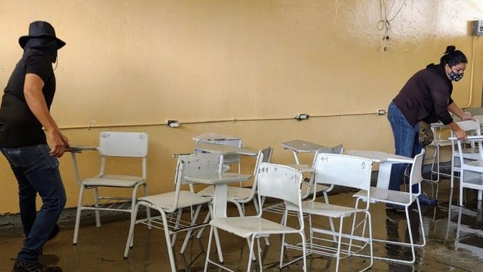 Tiene 25% de escuelas riesgos para el retorno