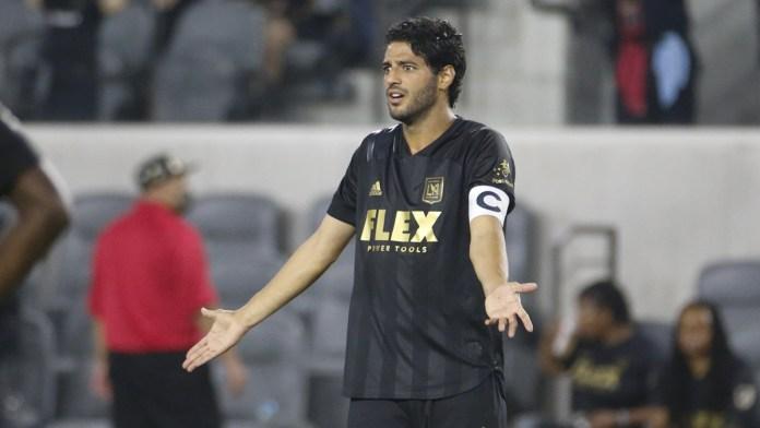 Frustra a LAFC y Carlos Vela mala racha