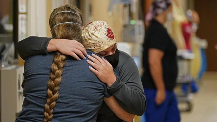 El drama del Covid abruma a Luisiana