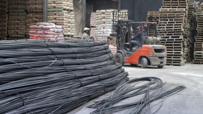 Aumentan los precios de material de obras