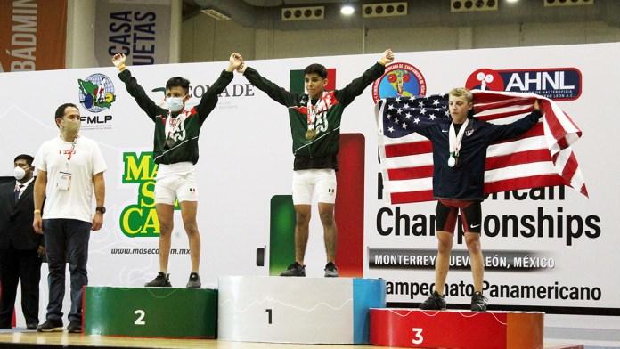 Pesistas de QR suben al podio en Panamericano juvenil