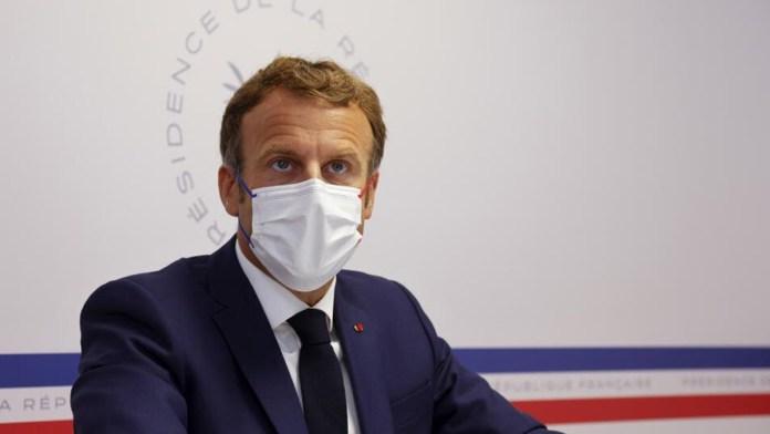 La batalla de Macron por el virus en Francia