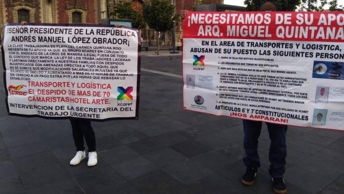 Denuncian abusos, piden ayuda a López Obrador