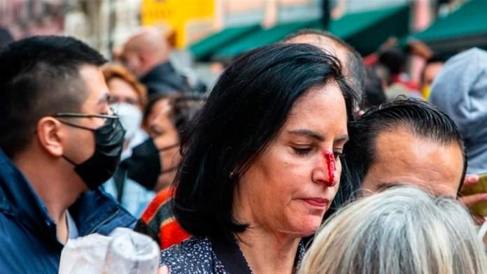 Golpean a Alcaldesa electa en trifulca con policías