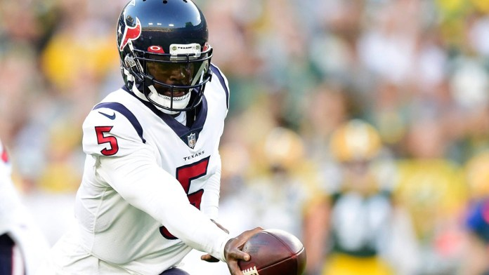 Confirman Texans a Taylor como quarterback titular