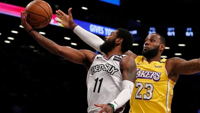 Abren Lakers y Nets pretemporada de NBA en LA