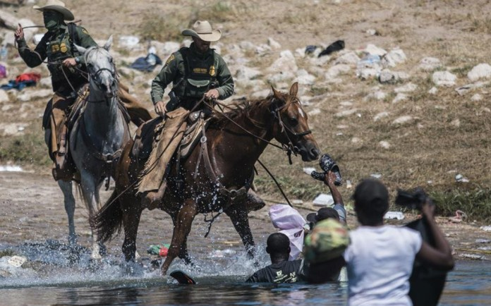 Suspenden en frontera uso de agentes a caballo