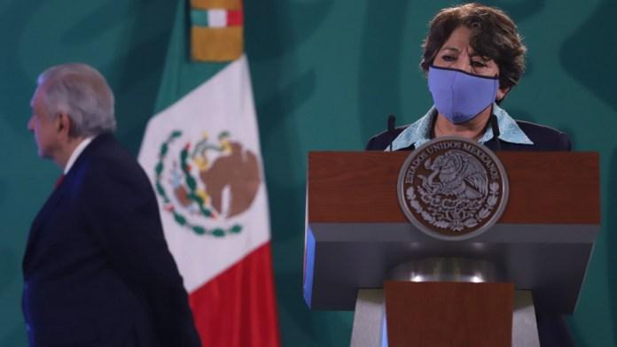 Denuncian panistas a Delfina Gómez por diezmos