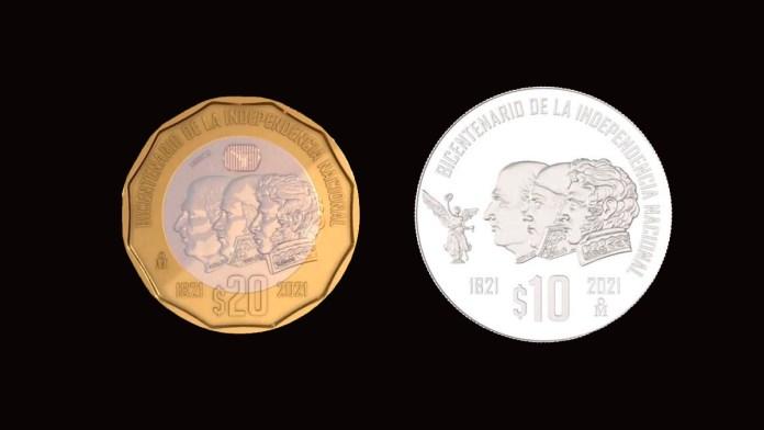 Lanzan monedas por Bicentenario de la Independencia