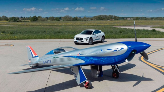 Prueba Rolls-Royce su primer avión eléctrico