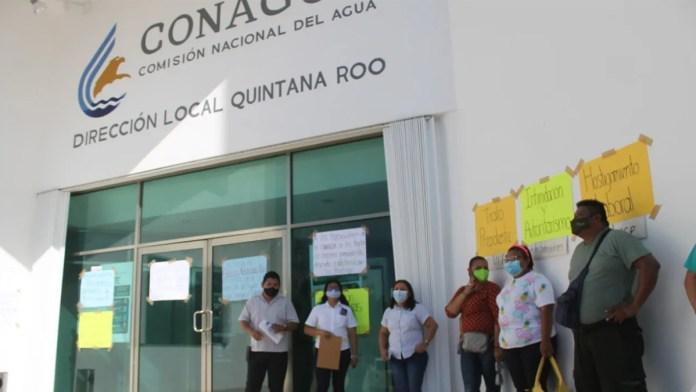Liberan oficinas de Conagua tras 5 días de protesta; logran destitución