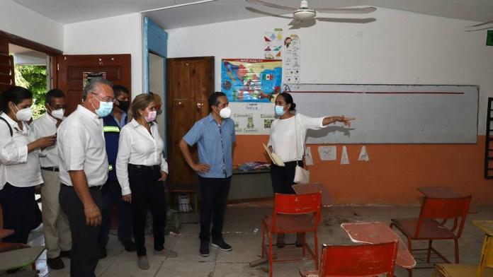 Concluyen rehabilitación en 54 escuelas de QR