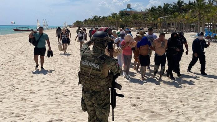Arrebatan playas a la delincuencia en Solidaridad