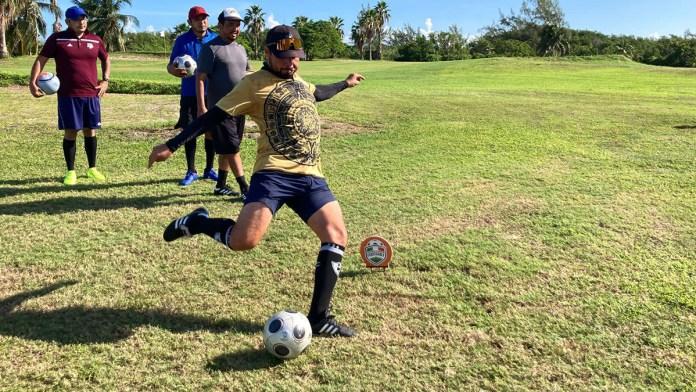 Pantera Sánchez rompe récord en Liga de FootGolf