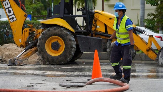 Comenzó una obra más en Zona Hotelera de Cancún trabajos