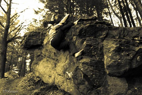Boulder en Nideggen