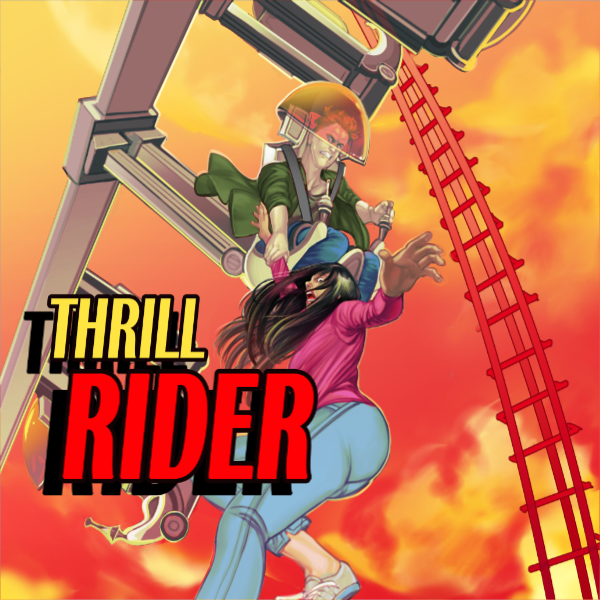 Lucha Comics - Thrill Rider - Thumbnail 600px