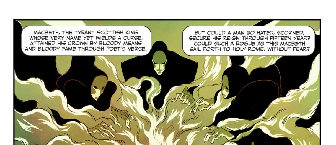 Lucha Comics - Macbeth: The Red King Kickstarter Header