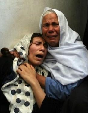 Los palestinos de Gaza rompen el cerco del imperialismo