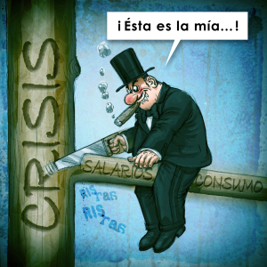 La economía mundial se desliza nuevamente hacia la recesión