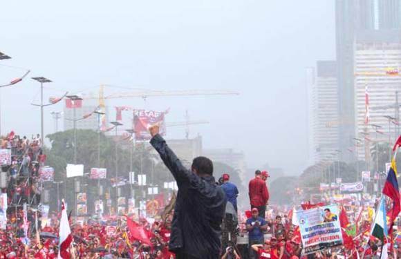 La gran toma de Caracas Venceremos