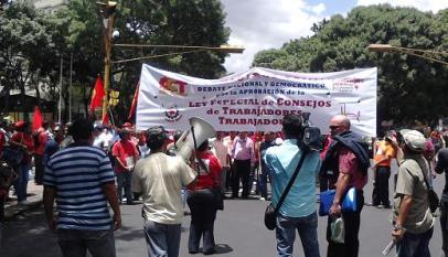 Marcha por el Control Obrero