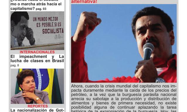 Adquiere ya el periódico Lucha de Clases nro 20 – De la derrota del 6D al referendo revocatorio