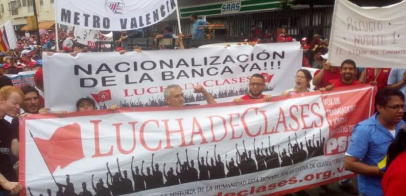 Reporte: Lucha de Clases se movilizó junto a la clase obrera el 1ro de mayo