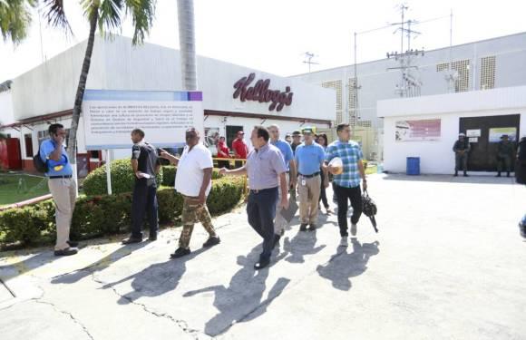 Aclaratoria de los trabajadores de Kellogg's en Aragua