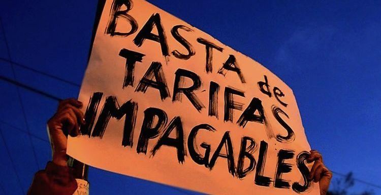 Argentina: El tarifazo es un crimen