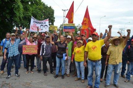 Manifestamos nuestra solidaridad con la marcha campesina admirable