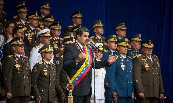 Fracasa un atentado terrorista contra el presidente Maduro