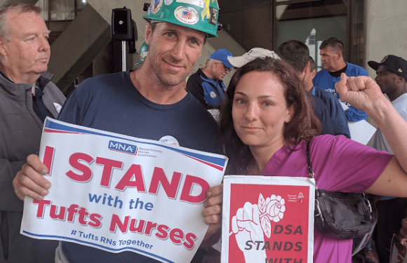 Mensaje de solidaridad internacional con las enfermeras en huelga