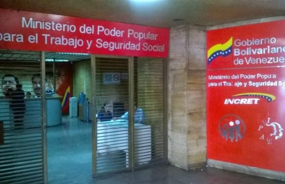 Declaración de solidaridad con los trabajadores del Ministerio del Trabajo
